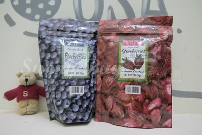 【Sunny Buy寶貝館】◎現貨◎ 美國 Trader Joe's 急凍乾燥水果乾 34g 藍莓 草莓