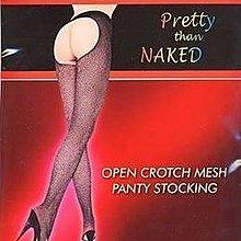 (A159)(現貨)Open Crotch Mesh Pantyhose後開襠網狀連褲襪 PJ4005日本正貨