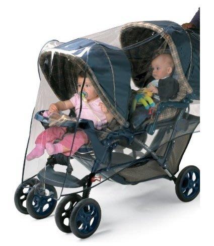 ㊣USA Gossip㊣ Jolly Jumper 雙人手推車 專用雨罩