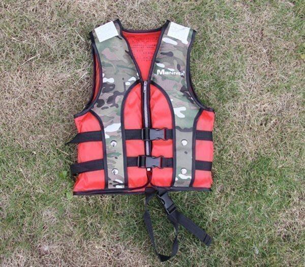【購物百分百】Manner兒童救生衣QP6515迷彩/浮力衣(帶跨帶) 橡皮艇/學泳專配潛水裝備