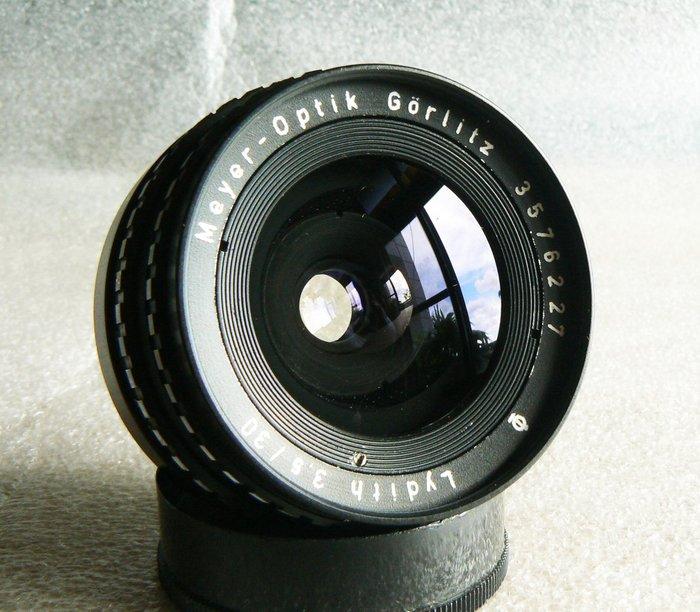 【悠悠山河】梅毒電影鏡 10葉片Meyer-Optik Lydith 30mm F3.5 1Q頂級鏡片 M42口 收藏級