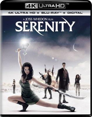 毛毛小舖--藍光BD 衝出寧靜號 4K UHD+BD 雙碟限定版(中文字幕) Serenity