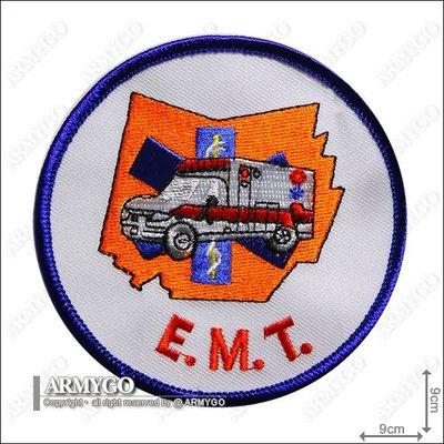 【ARMYGO】E.M.T. 圓形繡章