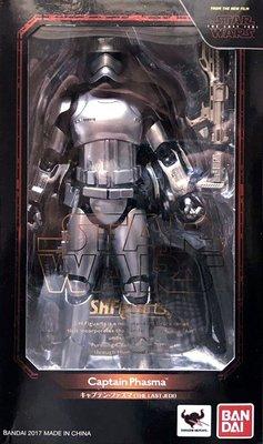 日本正版 萬代 S.H.Figuarts SHF 星際大戰 最後的絕地武士 法斯馬隊長 可動 公仔 日本代購