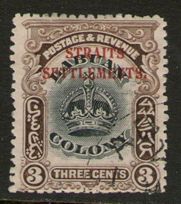 【雲品】馬來亞Malaya S. Setts. 1906 SG 143 MH