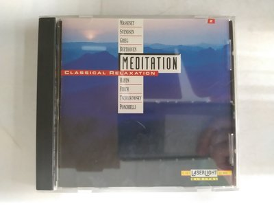 昀嫣音樂(CD74)  MEDITATION CLASSICAL RELAXATION VOL.2 美國壓片 保存如圖