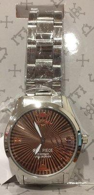 4165本通 海賊王手錶-金