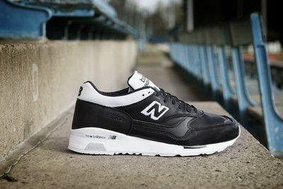 New Balance M1500FB Football Pack英國製黑白真皮革歐洲國家盃限定歐足概念足球鞋NB慢跑鞋