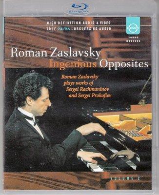 高清藍光碟 Zaslavsky Ingenious Opposites Vol.2 扎斯拉沃斯基鋼琴藝術 25G