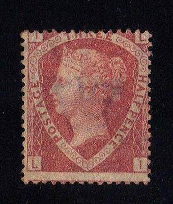 【雲品】泰國Great Britain 1870 QV 1?d Rose-Red PL 1 SG 51 UN Cat ?550 庫號#67432
