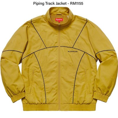 Supreme 19ss piping track jacket size:S