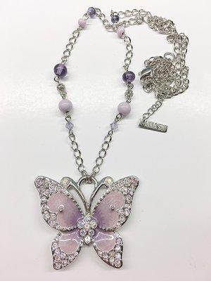 Anna Sui 紫色蝴蝶 項鍊  全新正品 現貨