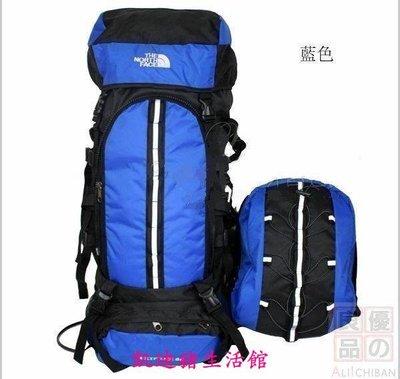 【凱迪豬生活館】80升子母登山包 子母包(可拆卸)旅遊必備雙肩背包大容量旅行包徒步包XBA015KTZ-200898