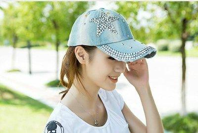 (現貨)星星滿鑽棒球帽~ 搭出流行時髦風格!(W368)