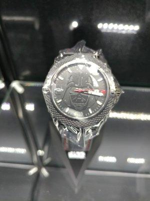 ROTARY x STAR WARS 限量手錶(星球大戰) DARTH VADER(皮帶) #7012D01