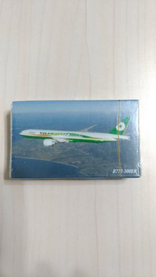 長榮航空 EVA AIR 波音 B777~300ER 撲克牌