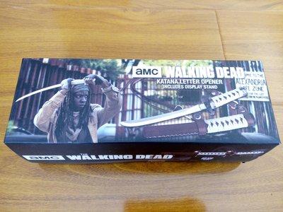 全新現貨 The Walking Dead陰屍路--米瓊Michonne武士刀造型拆信刀