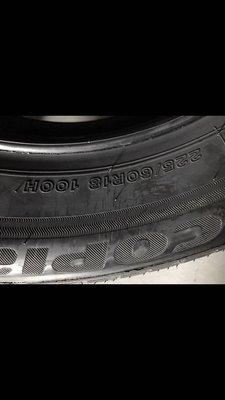 [連昌輪胎]普利司通輪胎 422 全新品 225/60R18 剩兩條5000元 自取價 2015年台灣製 耶穌愛你