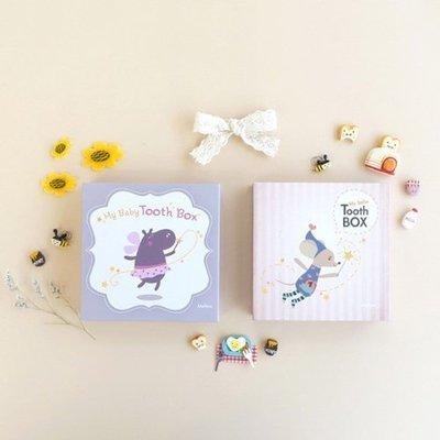 ♀高麗妹♀韓國 Mellow My Baby Tooth Box 3 我的牙仙子 寶寶乳牙收集盒/保存盒(2款選)現貨