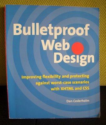 Bulletproof Web Design/網頁設計/網站設計書籍~只賣100元