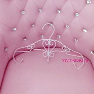 大量  歐式 法式 古典風 夢幻甜美 心形 愛心型 鐵藝 白色 衣架 展示架 女裝店 服飾店 可  衣架