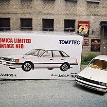 TOMYTEC LV-N03a 日產 NISSAN LEOPARD TR-X  TOMICA LIMITED VINTAGE NEO 1/64