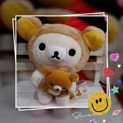 抱公仔懶懶熊公仔吊飾 * 日本正版商品