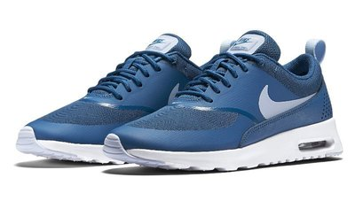 =CodE= NIKE WMNS AIR MAX THEA 透氣網輕量慢跑鞋(藍白) 599409-410 90 1.女