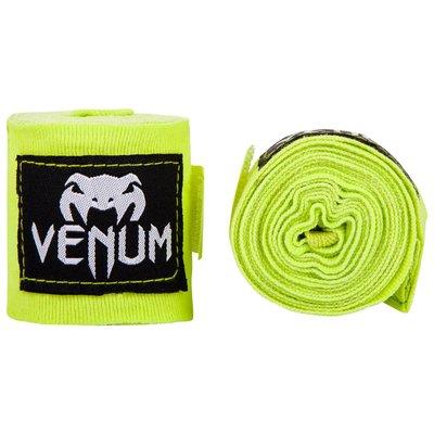 [古川小夫] 2.5M VENUM 拳擊手綁帶 GYM BodyCombat手綁帶~UFC眼鏡蛇拳擊手綁 - 黃色