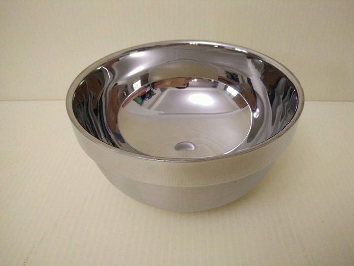 (巧晶)隔熱碗/雙層碗/不鏽鋼碗/兒童餐具 304(18-8)不鏽鋼14CM