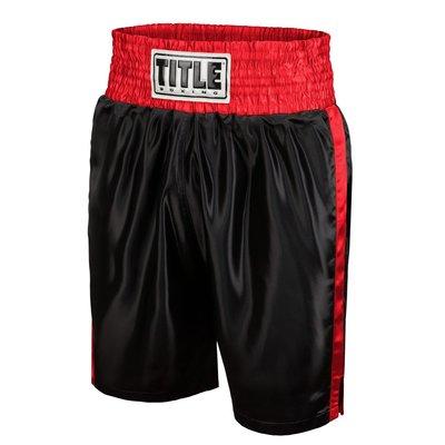 【拳運會】TITLE 拳擊褲 紅黑
