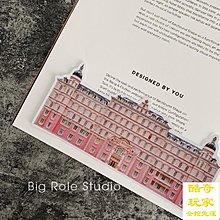 布達佩斯大飯店行李箱貼紙防水ins全貼個性創意文藝防水潮牌大張【酷奇玩家】