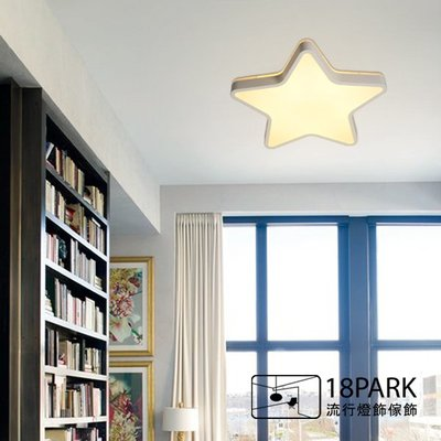 【18park】可愛星星 Brightest Star  [ 最亮的星吸頂燈 - 45cm ]