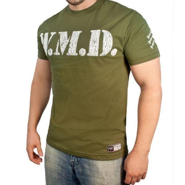☆阿Su倉庫☆WWE摔角 Big Show WMD Authentic T-Shirt 大秀軍綠色絕版款 出清特價中