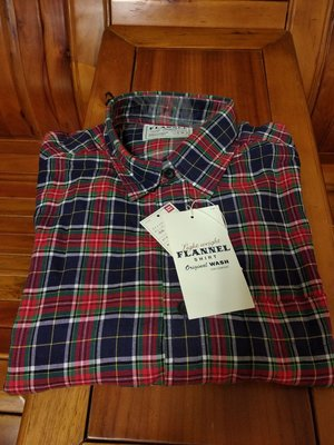 日本 Uniqlo 男款 格紋襯衫 基本款 藍綠紅格 67 blue M號 flannel 全新現貨