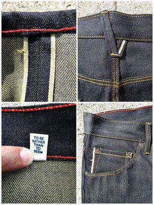 美國製手工限量Raleigh Denim GRAHAM Original Selvage Raw Levis傳奇打版師