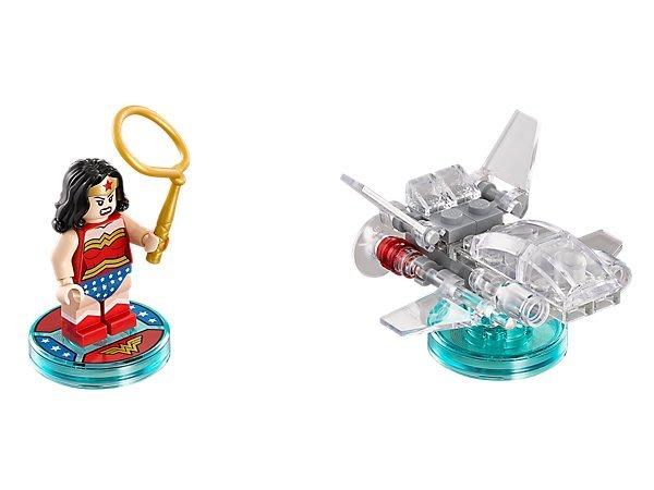 【LEGO 樂高 】100% 全新美國正品 益智玩具 積木/ DC COMICS 三合一次元系列 神力女超人 71209