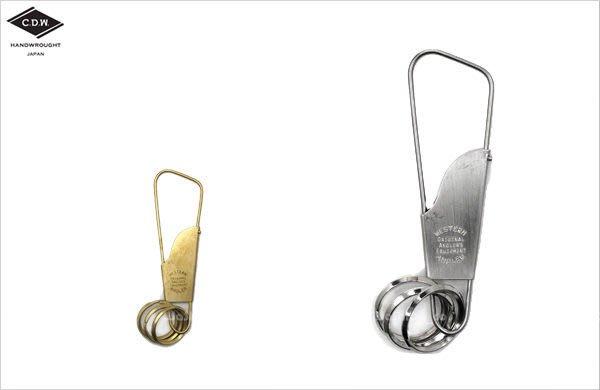 WaShiDa【WAK01】CDW - HOLGER Key Ring / Nickel 魚鉤 鑰匙圈 - 聖誕 小物