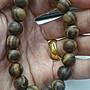 北部肖楠佛珠 10mm 19顆 沉水 虎斑黑格 歡迎現場購買無爭議 念珠 手串珠 木頭天然紋路無第二條一樣的喔 禮佛念經
