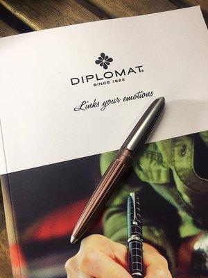 DIPLOMAT AERO 太空梭咖啡色 鋼筆