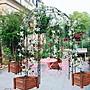 居家家 鐵藝四邊亭葡萄架花園裝飾庭院爬藤架...