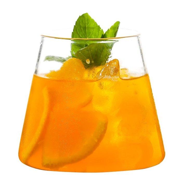 999玻璃杯 威士忌杯 酒杯 啤酒杯 酒吧 ins網紅日式富士山杯 果汁杯玻璃杯創意透明雪糕杯冷飲酒杯飲料杯