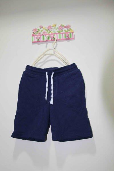 全新~H&M 藍色棉質短褲