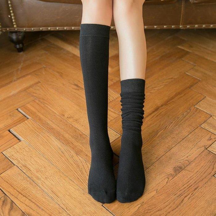 長筒襪 長筒襪子女韓國中筒襪韓版學院風小腿襪日繫秋冬及膝高筒過膝襪潮