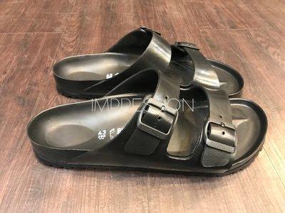 【IMPRESSION】BIRKENSTOCK ARIZONA EVA 129423 防水 橡膠 女生 勃肯 涼鞋 黑 台中市