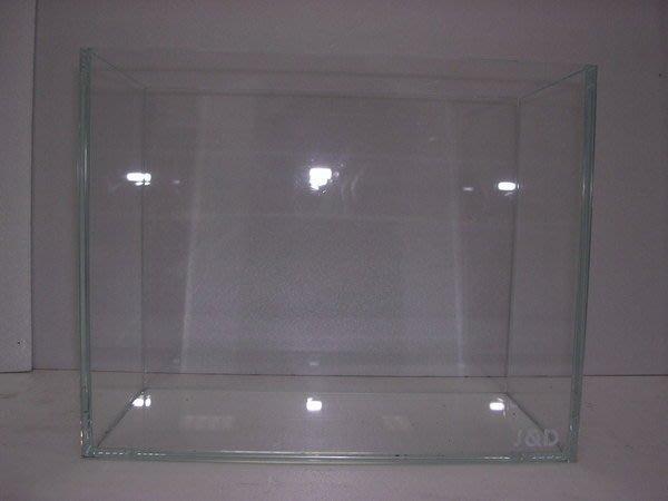 【各式魚缸木架訂製全省配送】J&D5mm60*30*36(外銷品)超白水晶缸特價$1190