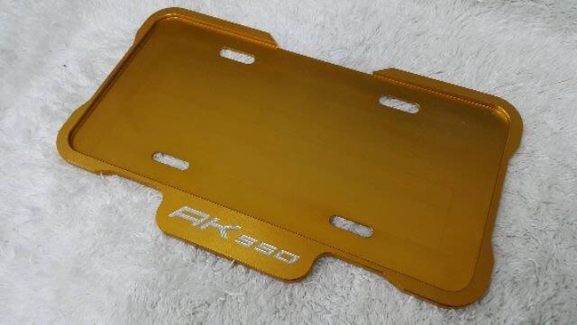 KYMCO 光陽 AK550  重機 機車大牌 車牌保護板 大牌板 保護底板 車牌板 保護板 護板 底板
