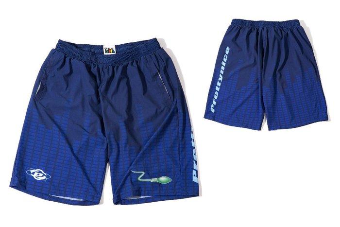 { POISON } PRETTYNICE URBAN SHORTS 歐陸舞曲元素 滿版昇華印刷 足球短褲套裝