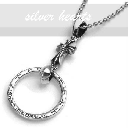 【SILVER HEARTS】Goro's Chrome Hearts克羅心 baby fat 純銀眼鏡掛鍊 項鍊