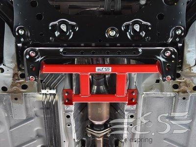 阿宏改裝部品 E.SPRING NISSAN BIG TIIDA 井字 拉桿 底盤強化拉桿 紅色 3期0利率